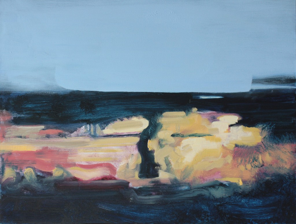 After Explosion, bartosz beda paintings 2012