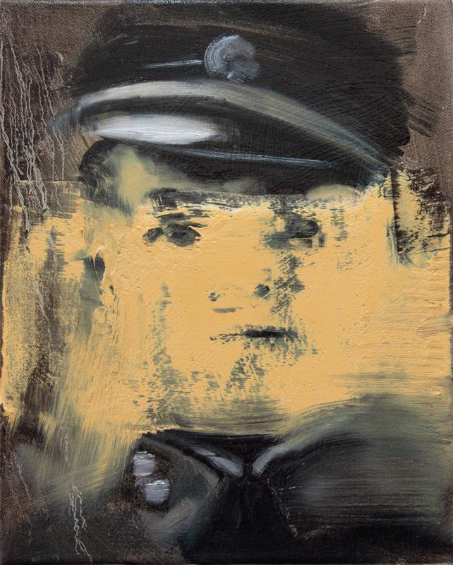 Angel of Death II, bartosz beda paintings 2012