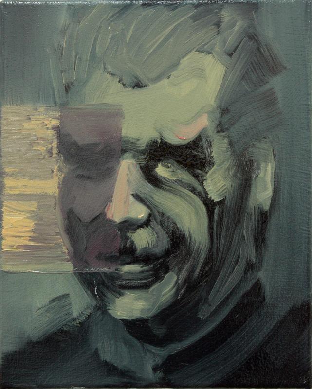 Angel of Death III, bartosz beda paintings 2012