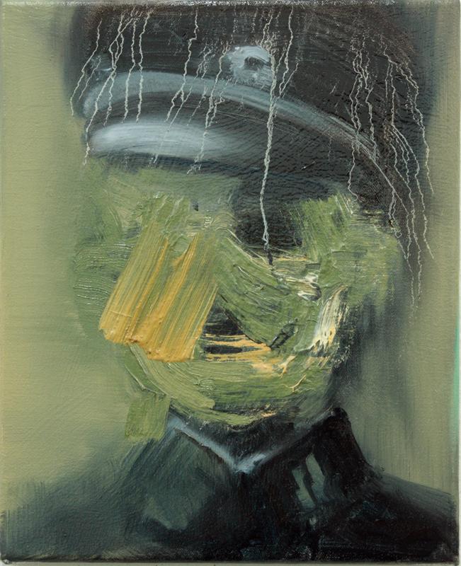 Angel of Death IV, bartosz beda paintings 2012