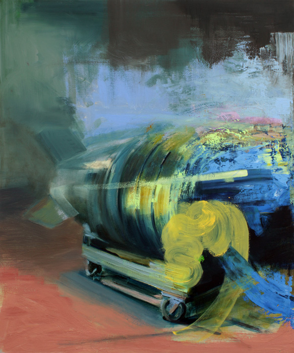 Art by Bartosz Beda, Atom, Interiors, paintings