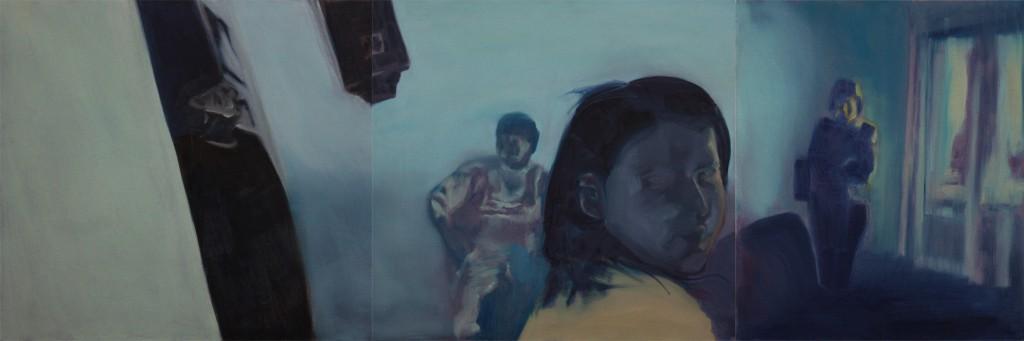 Art by Bartosz Beda, Scary Corner, paintings 2011