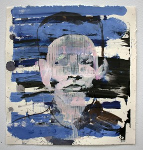 anxiety on paper, painting, bartosz beda paintings 2013