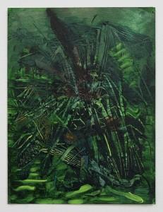 Art by Bartosz Beda, Bush V, painting