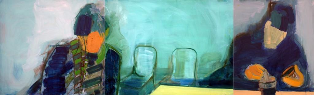 Art by Bartosz Beda, Complete Quietness, paintings 2011