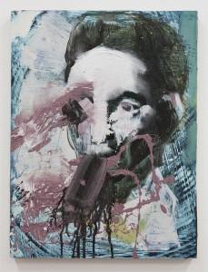 Crooked II, bartosz beda paintings 2014