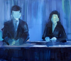 Art by Bartosz Beda, Fact at 7pm, paintings 2011