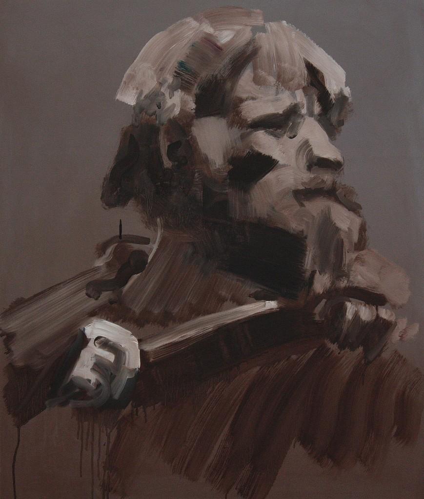 Art by Bartosz Beda, Farmer, paintings 2011