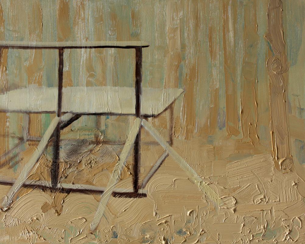 Forest Interior, bartosz beda paintings 2012