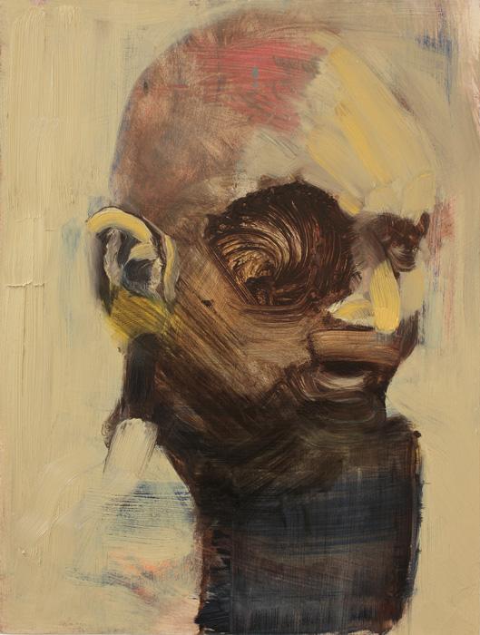 Gandhi, bartosz beda paintings 2012