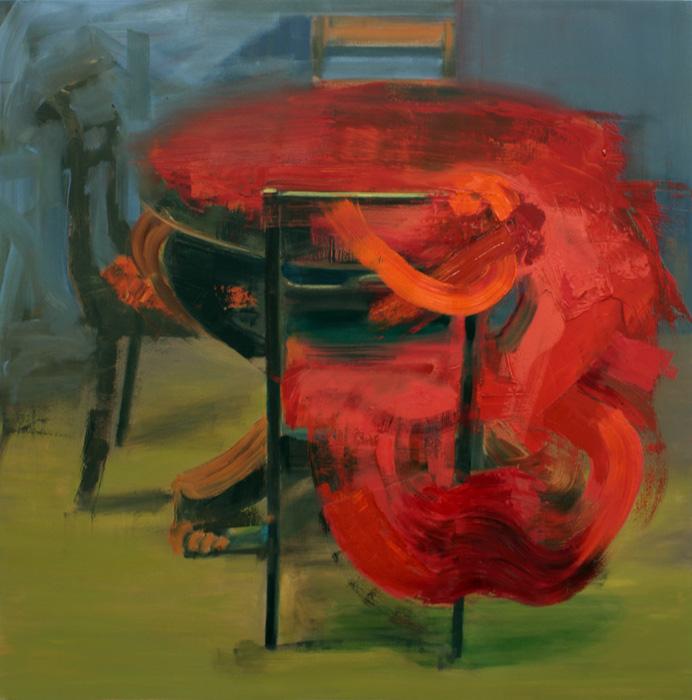 Art by Bartosz Beda, Human needs, Interiors, paintings