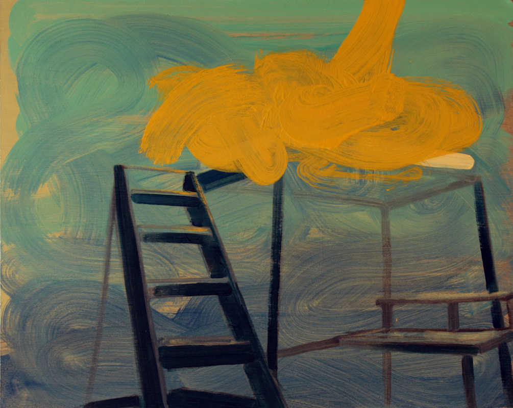 Interior for Clouds, bartosz beda paintings 2012