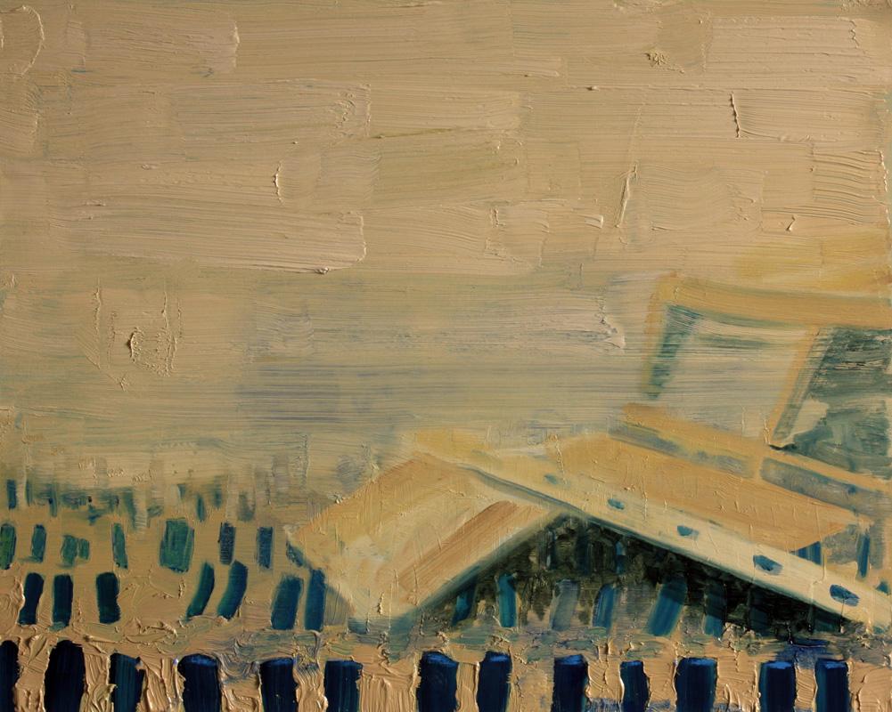 Interior of Unknown, bartosz beda paintings 2012