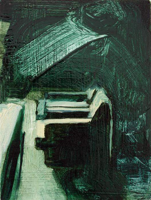 Interior and Armchair, paintings, bartosz beda paintings 2012