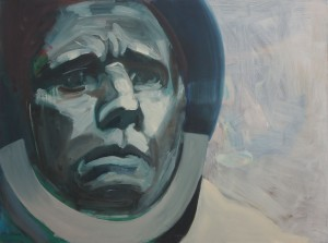 Art by Bartosz Beda, Juri Gagarin, paintings 2011