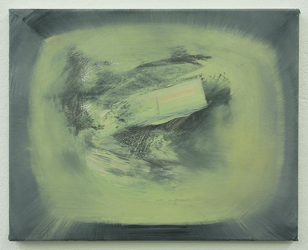 Landing on the Moon III, bartosz beda paintings 2013