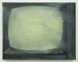 Landing on the Moon, bartosz beda paintings 2013