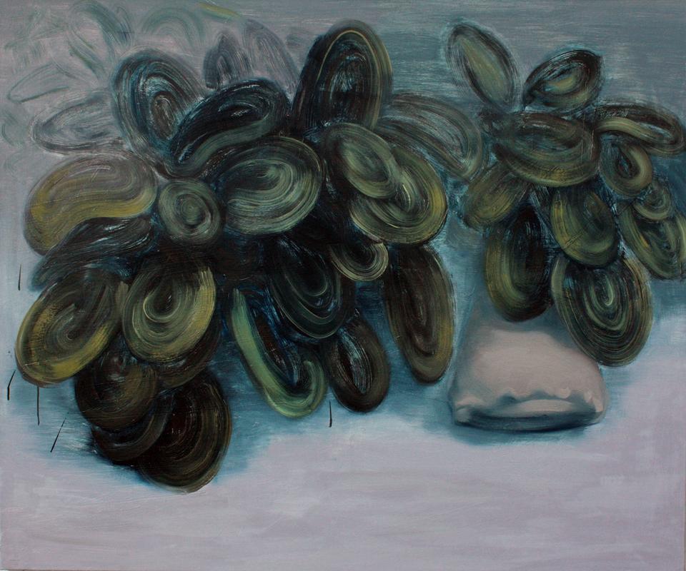Marks for Pillow III, bartosz beda paintings 2013