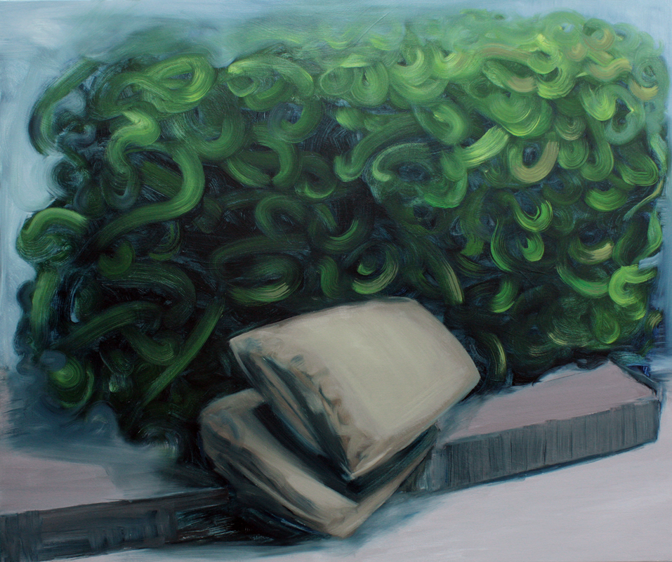 Marks for Pillow, painting, bartosz beda paintings 2013