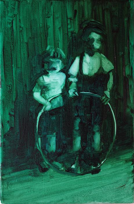 memories, bartosz beda paintings 2012
