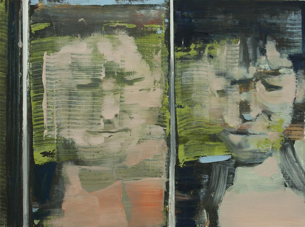 Mirror Face - study, bartosz beda paintings 2013