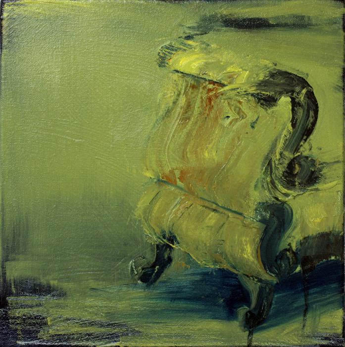 My Sofa, bartosz beda paintings 2012