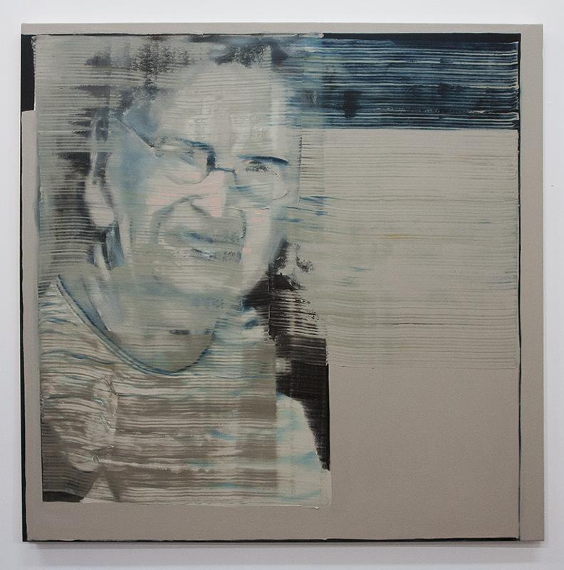 bartosz beda paintings, news invigilation II, bartosz beda artist
