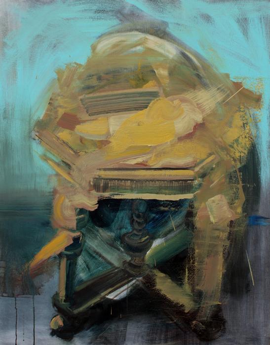 On top of it, bartosz beda paintings 2012
