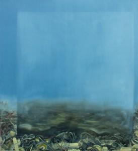 Reversed Landscape, painting, bartosz beda paintings 2013