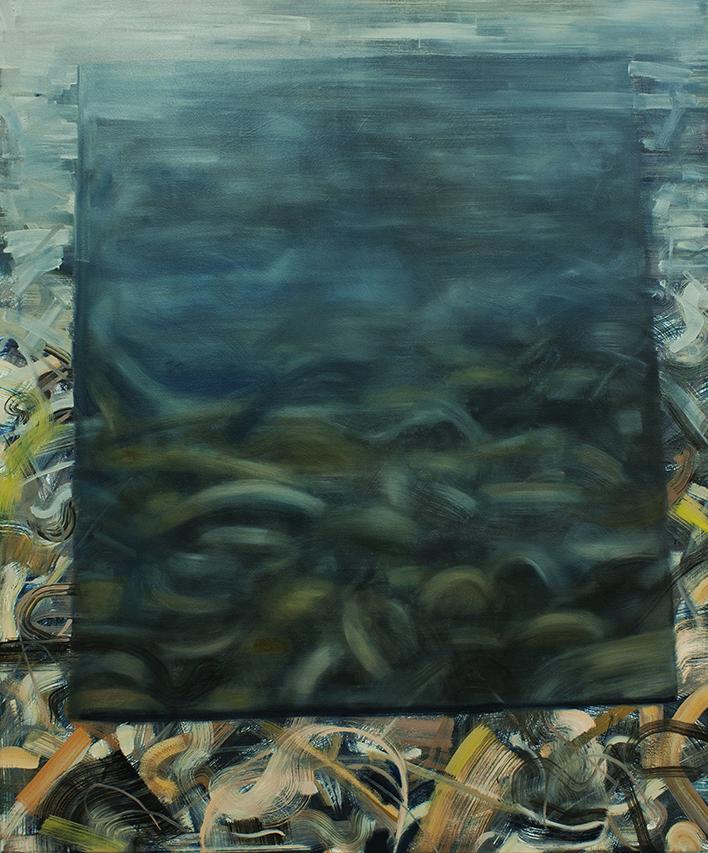 Reversed Landscape-transparent, painting, bartosz beda paintings 2013