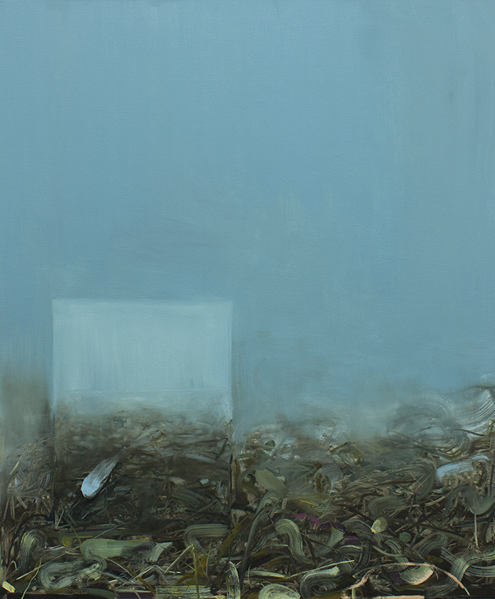 Reversed Landscape, painitng, bartosz beda paintings 2013