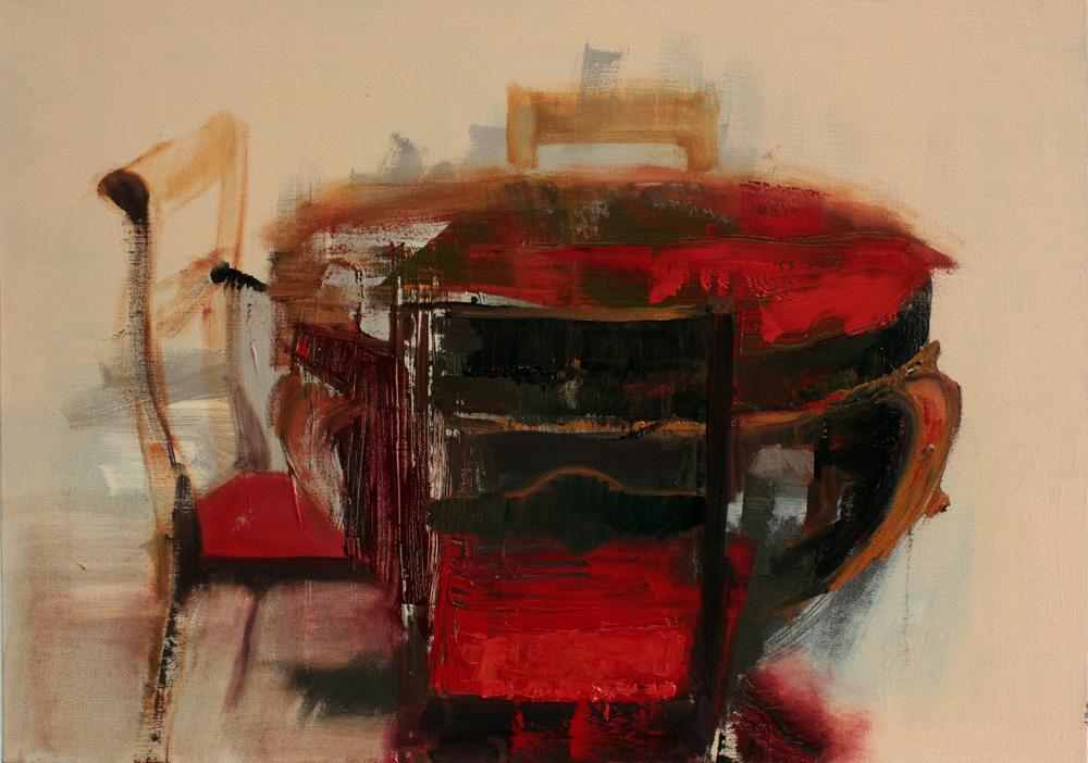 Art by Bartosz Beda, Study for Human Needs, Interiors, paintings