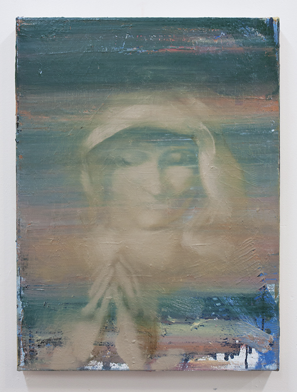 Temptation II, bartosz beda paintings 2014