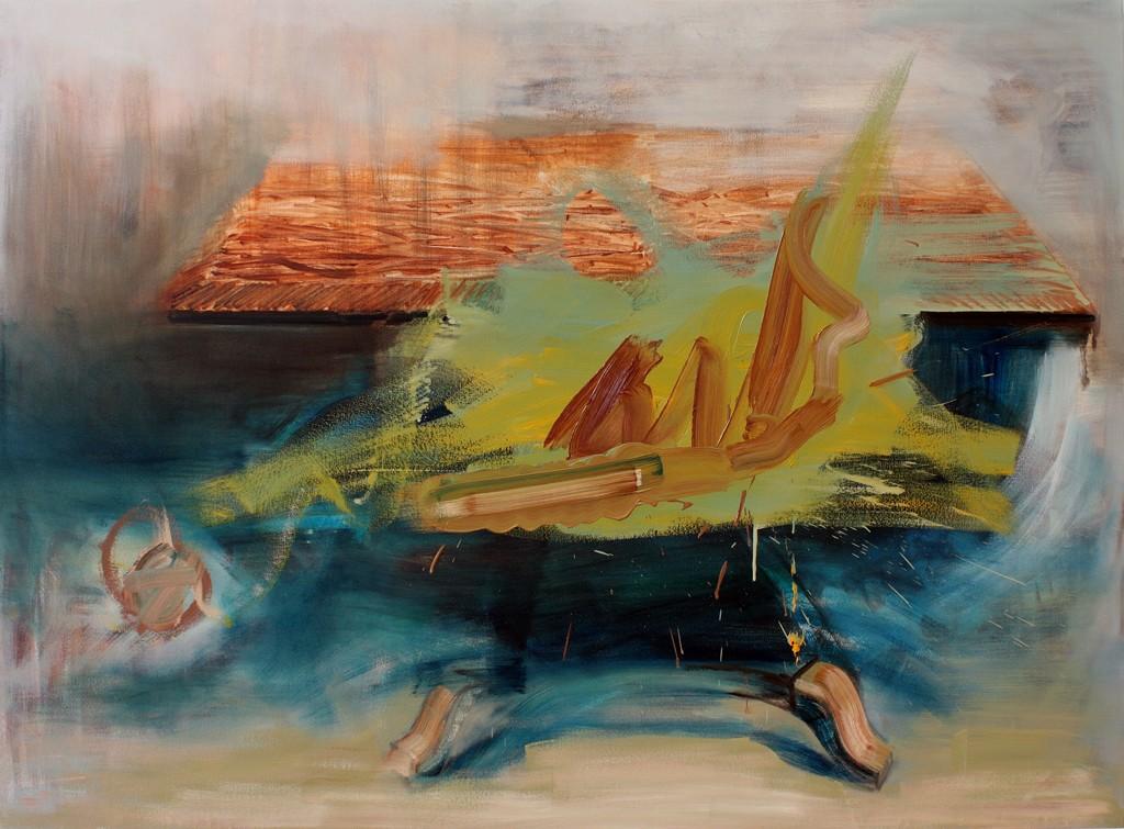Unreal Table, bartosz beda paintings 2012