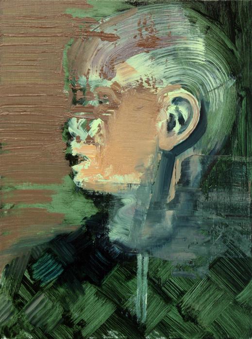 Untitled II, bartosz beda paintings 2012