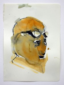 anxiety on paper, bartosz beda paintings 2013