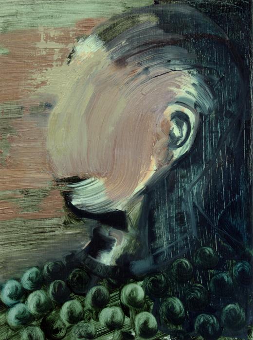 Untitled I, bartosz beda paintings 2012