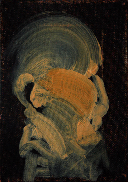 Art by Bartosz Beda, Untitled (sketch), paintings 2011