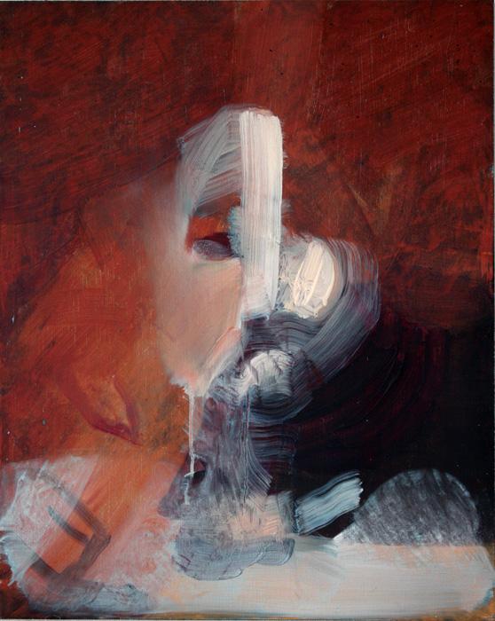 Art by Bartosz Beda, Untitled (studium), paintings 2011