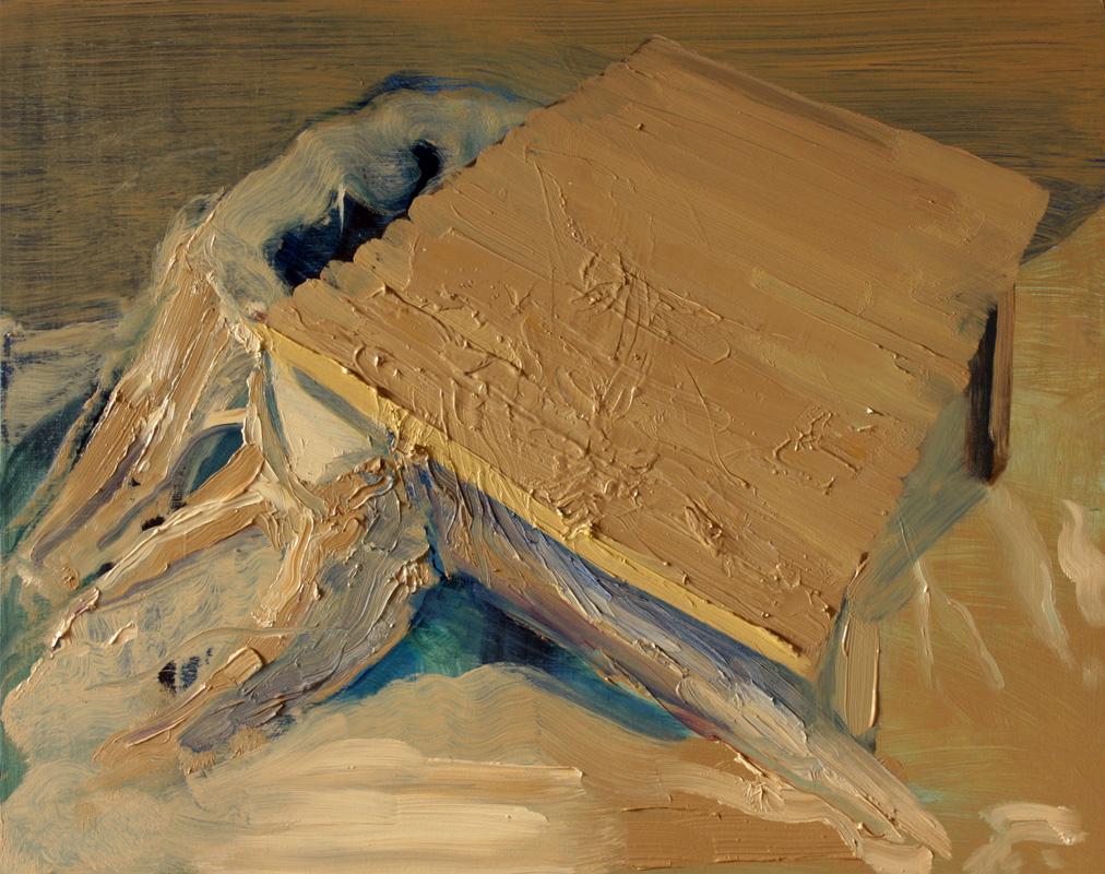 Wood Table, bartosz beda paintings 2012