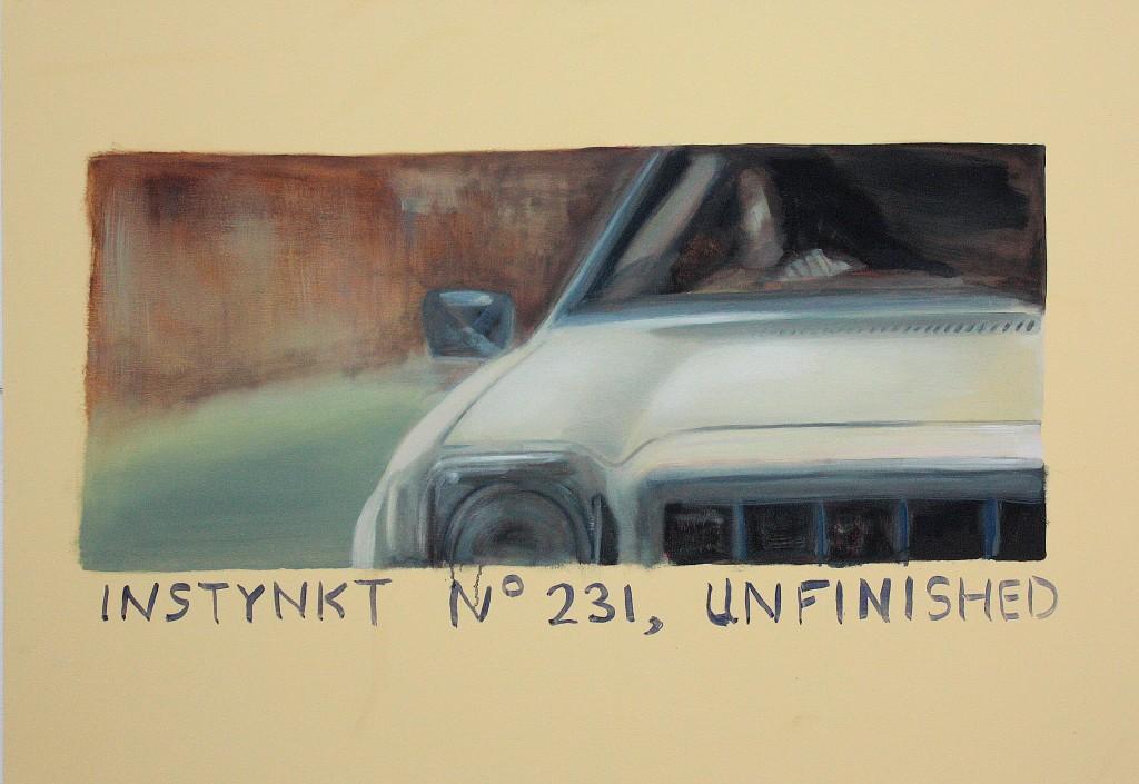 Art by Bartosz Beda, Instynkt, paintings 2011