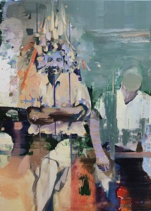 flat emotion, bartosz beda paintings 2015
