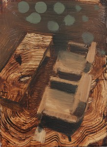 Silent Interior I, paintings 2015, bartosz beda painting, bartosz beda