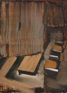 Silent Interior III, bartosz beda paintings 2015