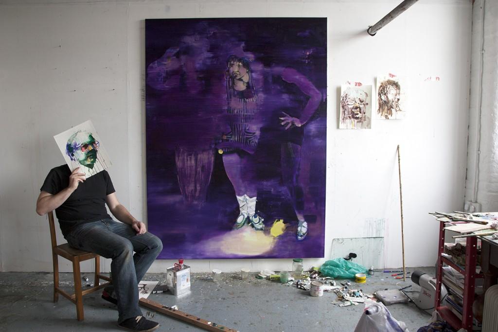 studio visit, fresh paint magazine