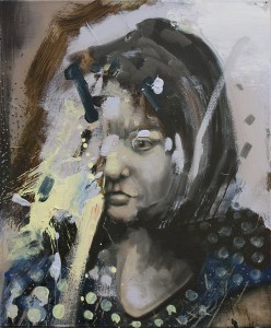A Girl I Know, bartosz beda paintings 2015