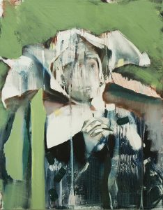 Nuns (Congenial Talk) III, 2017, bartosz beda, paintings, artist