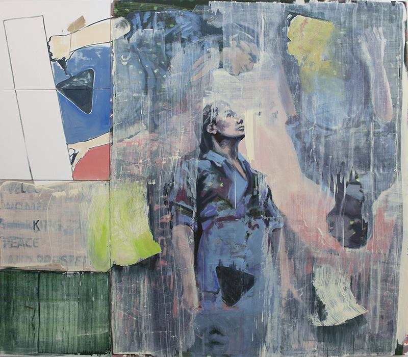 Ten Starts From One, paintings 2017, bartosz beda, beda art, beda paintings, bartoszbeda artist