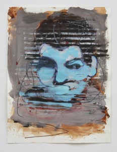 Blue Solaris, bartosz beda paintings 2014