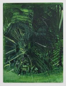 Bush IX, bartosz beda paintings 2014